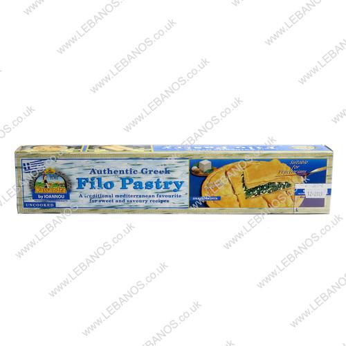Fillo Pastry Frozen - Kassandra - 10 x 400g