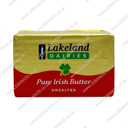 Irish Butter Unsalted - Lakeland - 40 x 250g