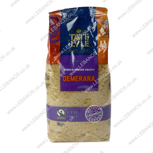 Sugar Brown Demerara - Lebanos - 10 x 1kg