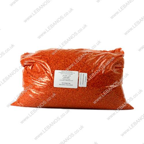 Lentil Red Split - Lebanos - 5kg