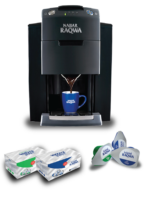 Coffee Machine 220v - Raqwa