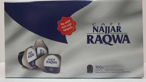 Single Cup Najjar Coffee/Plain - Raqwa - 100pcs
