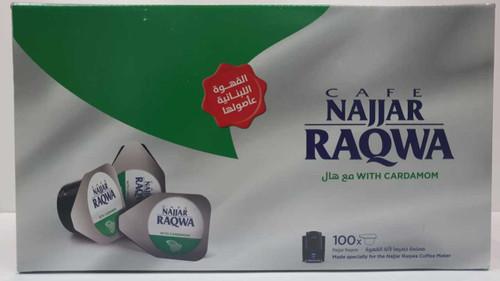 Single Cup Najjar Coffee/Cardamon - Raqwa - 100pcs