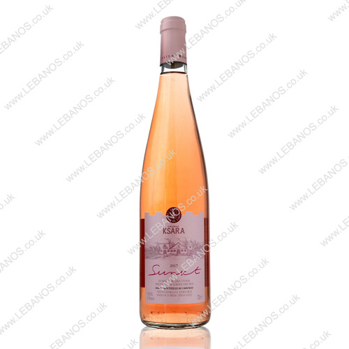 Chateau Ksara/Sunset Rose 75cl 2018