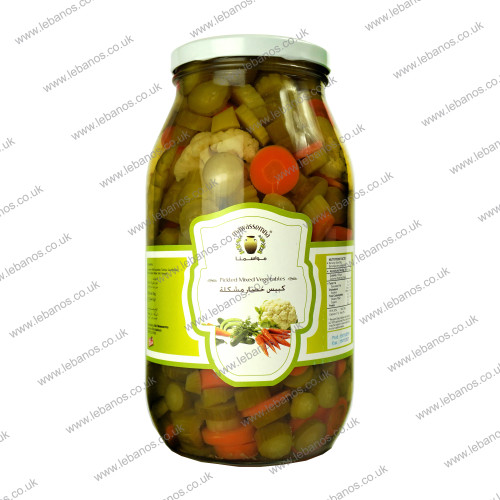 Mix Veg Pickles/Jar - Mawasmna - 4x2kg