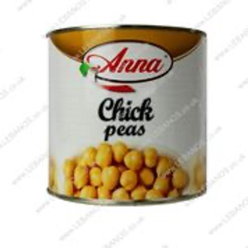 Boiled Chickpeas - Anna - 6 x 2.55kg
