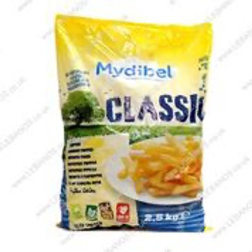 Frozen Chips 3/8 Cut - Lebanos - 4 x 2.5kg