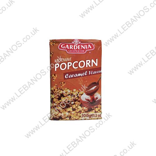 Microwave Popcorn Caramel - Gardenia - 15 x 100g