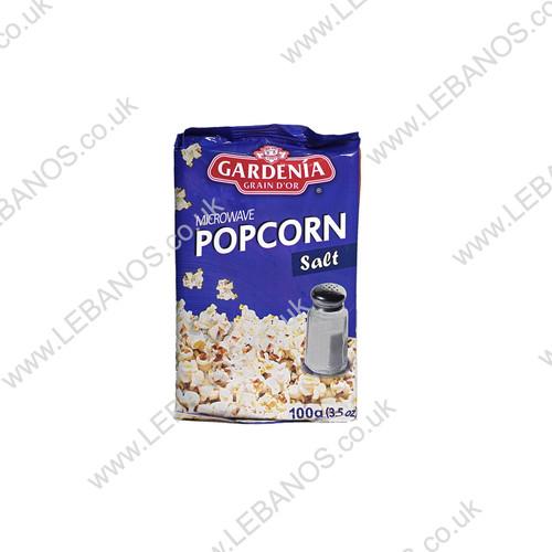 Microwave Popcorn Salt - Gardenia - 15 x 100g