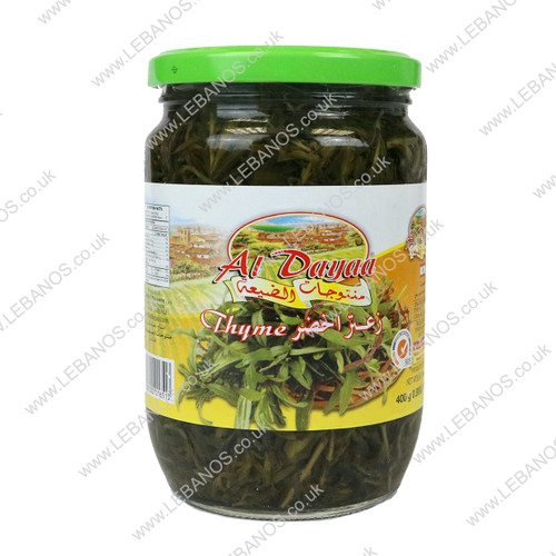 Pickled Green Thyme - Al Dayaa - 12 x 400g