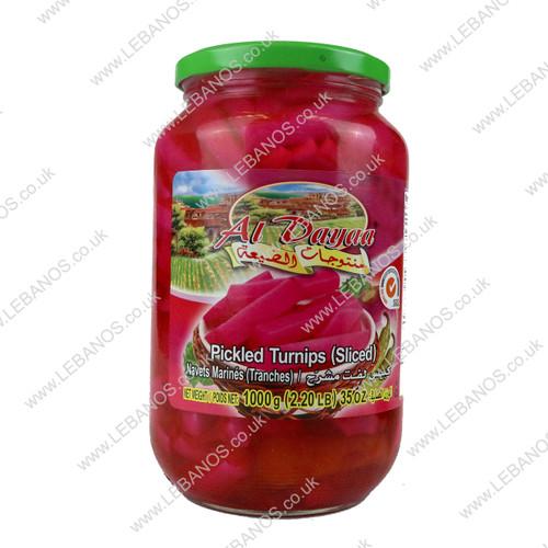Pickled Turnips (Sliced) - Al Dayaa - 12 x 1kg