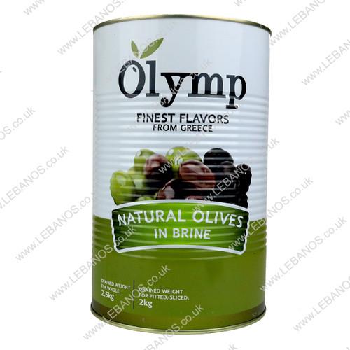 Pitted Black Olives/Jumbo - 2kg