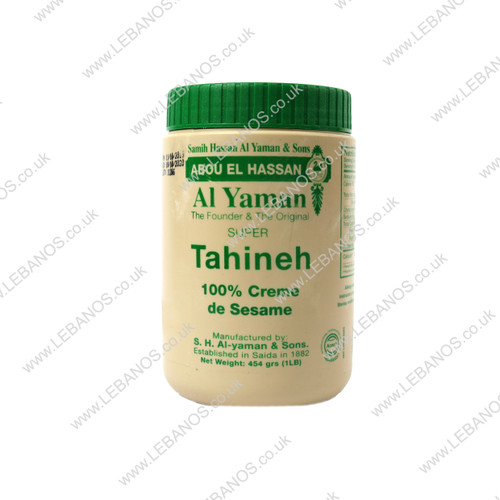 Tahineh - Al Yaman - 24 x 454g