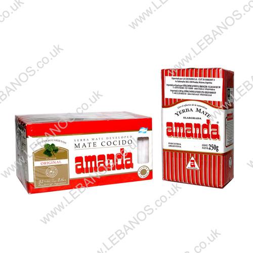 Yerba Mate Tea Bag - Amanda - 24x25tb