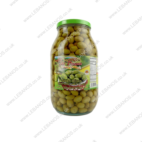 Green Olives - Al Dayaa - 4 x 3kg