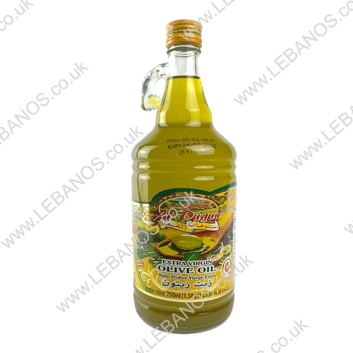 Extra Virgin Olive Oil - Al Dayaa - 6x750ml