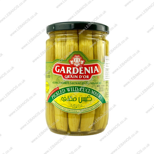 Pickled Wild Cucumber - Gardenia - 12x600g