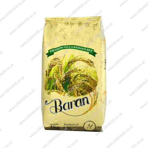 Baran Basmati Rice - Premium Sella - 20x1kg