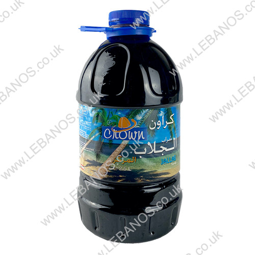 Jallab Syrup - Crown - 4 x 2.5L