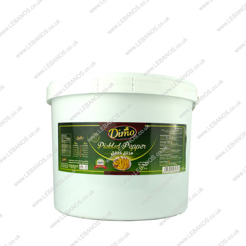 Pickled Pepper Hot - Dimo - 3kg
