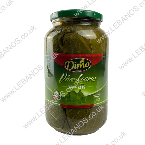 Pickled Vine Leaves Jar - Dimo - 6x13kg
