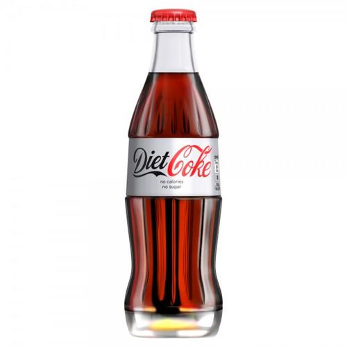 Coca-Cola Diet Crown Glass - 24x330ml