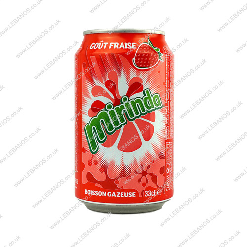 Miranda Strawberry Can - 24x330ml