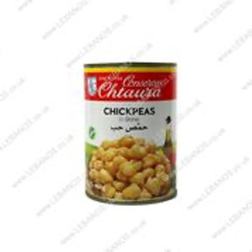 Chickpeas In Brine - Chtaura Conserves - 24x400g