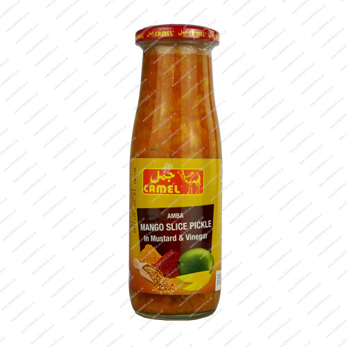 Mango Pickle Sliced - Al Jamal - 12x450g