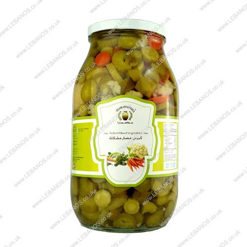 Pickled Mix Veg - Mawassemna - 4 x 2kg