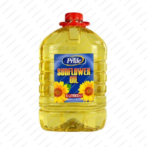 Sunflower Oil - Pride - 5ltr PET