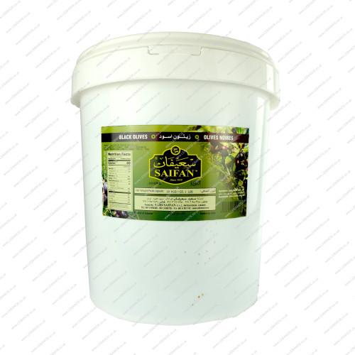 Black Olives Lebanese - Saifan - 10kg