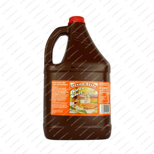 Brown Sauce - Devon Style - 4ltr