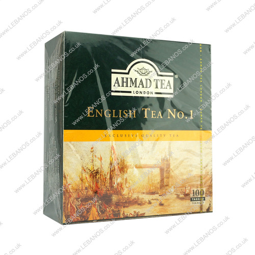English Tea - Ahmed Tea/Bags - 100tb