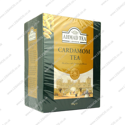 Cardamon Tea Loose - Ahmed  Tea - 500g