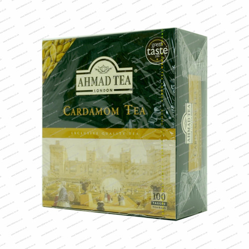 Ahmed Tea Cardamon/Bags - 100tb