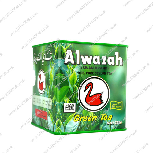 Al - Wazza Green Tea/Tin - 225g