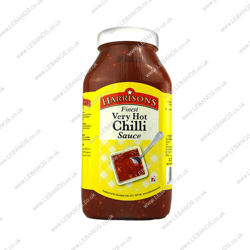 Very Hot Chilli Sauce - Harrisons - 2x2.27ml