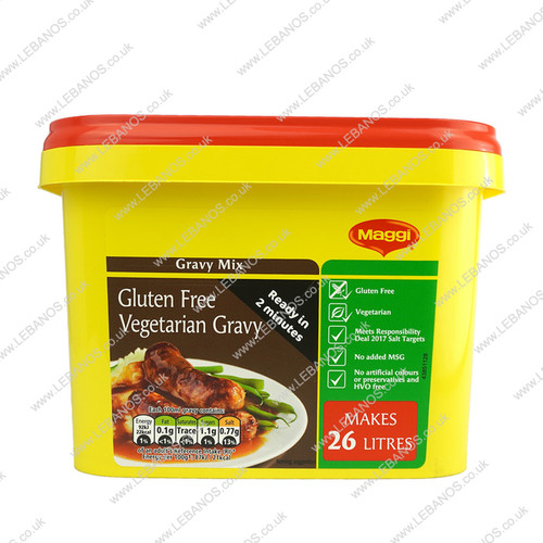 Gluten Free Vegetarian Gravy - Maggi - 1.7kg
