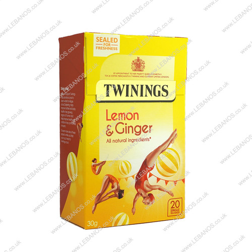 Lemon and Ginger - Twinings - 4x20s
