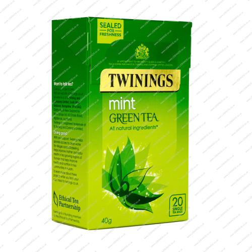 Mint Green Tea - Twinings - 4x20s