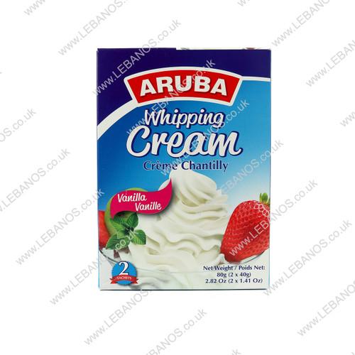 Whipping Cream Vanilla - Aruba - 24 x 88g