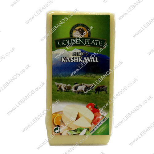Kashkaval Sheep's Cheese - Golden Plate 180g