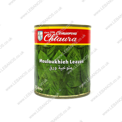 Mouloukhieh Leaves - Chtaura Conserves - 12 x 800g