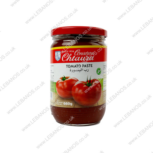 Tomato Paste Jar - Chtaura Conserves - 12 x 660g