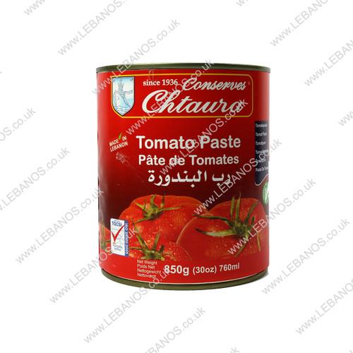 Tomato Paste Tin/Easy Open - Chtaura Conserves - 12 x 850g