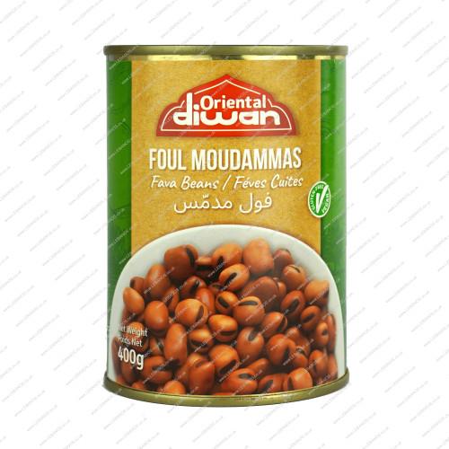 Foul Moudamas - Oriental Diwan Chtaura Conserves - 24x400g