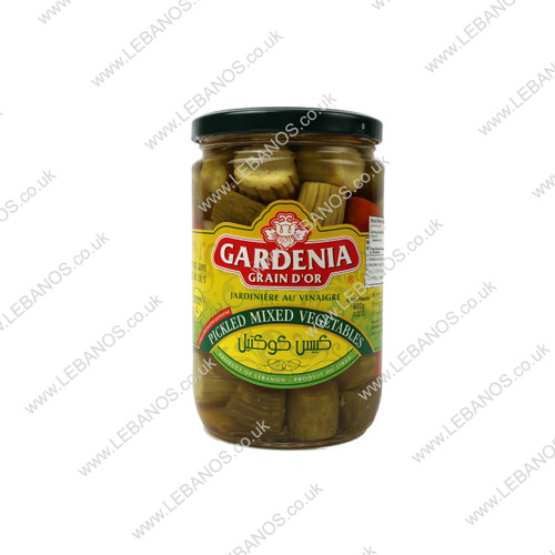 Pickled Mixed Vegetables - Gardenia - 12 x 600g