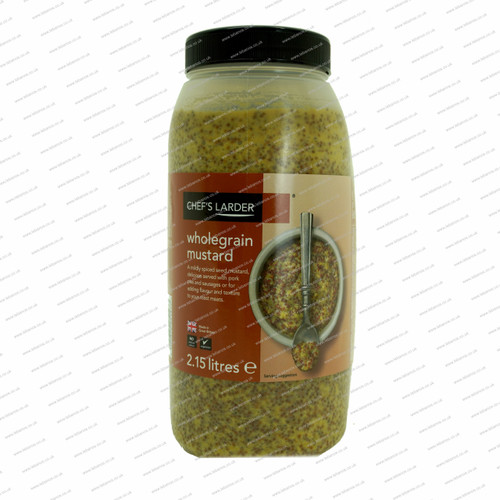 Whole Grain Mustard Colmans 2ltr