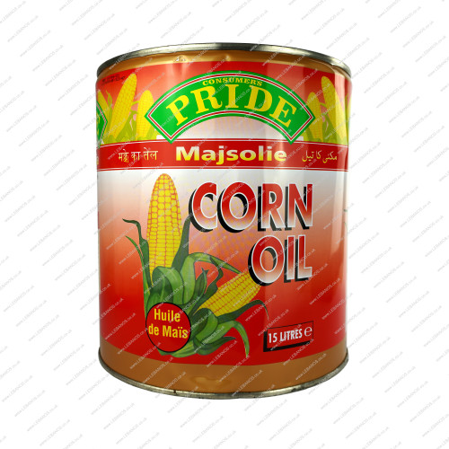Corn Oil In Tin - Pride - 15ltr